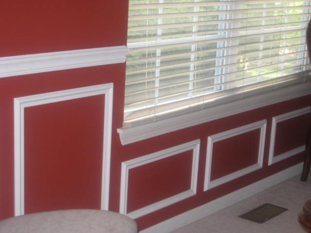 Chair Rail U0026 Shadow Boxes